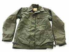 VIntage 70s US NAVY A-2 Deck Jacket Size Small 34-36