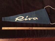 Riva Aquarama Blue Flag