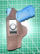 Tagua UCH-323 LH Brown Suede Leather Thumb Break IWB Holster for Glock 20 21