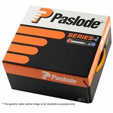 Paslode Smooth Bright Nails IM90i IM360Ci 3.1x90mm | 2200 Box + 2x Gas | 141076