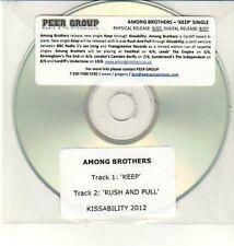 (DC853) Among Brothers, Keep / Rush and Pull - 2012 DJ CD