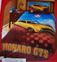 Holden Monaro GTS Single Bed Printed Quilt Cover Set New