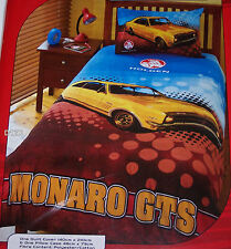 Holden Monaro GTS Queen Bed Printed Quilt Cover Set New