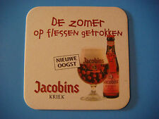 4d3cdf3d4528b6 Bière dessous de Verre ~ Bockor Brewery Jacobins Kriek (Cerise) Bier ~  Bellegem,