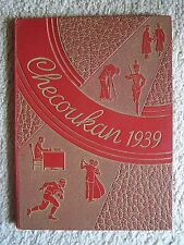 1939 CHEROKEE COUNTY HIGH SCHOOL YEAR BOOK, COLUMBUS, KANSAS