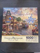 Disney Parks Thomas Kinkade Disneyland 60Th Anniversary 1000 Piece Puzzle New