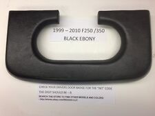 ford f250-350 center console cup holder pad 1999 2010 black