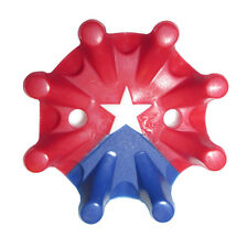Softspikes Pulsar Fast Twist Red, White & Blue Star Golf Cleats