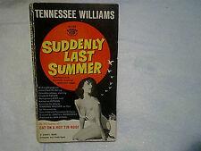 1960 SUDDENLY LAST SUMMER MOVIE PAPERBACK,Elizabeth Taylor,montgomery clift
