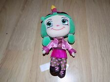 "Disney Store Wreck It Ralph Sugar Rush Candlehead Plush Doll 11"" EUC"