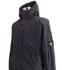 **Superb** STONE ISLAND hooded jacket, Size XL, Dark grey coat R478