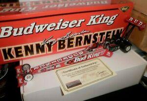 NHRA 1/24 REVELL KENNY BERNSTEIN 2000  BUDWEISER KING TOP FUEL 1/2000 # 1072