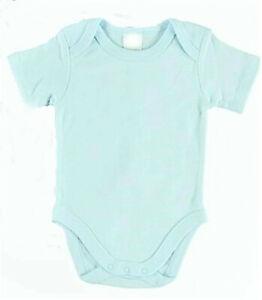 plain  short sleeve baby cotton romper bodysuit