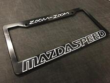 License Plate Frame Zoom Zoom Mazdaspeed RX3 RX7 RX8 Miata CX7 CX9 Rotary JDM FD