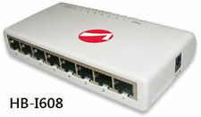 8-Port Ethernet 10/100 Compact Office Network Switch - Intellinet 502054