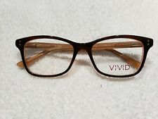 VIVID 881 Eyeglass frames Brown 52 16 140  New