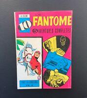 Le Fantôme album n°10 du n°217 à 222. Remparts 1968. TBE