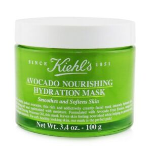 NEW Kiehl's Avocado Nourishing Hydration Mask 100ml Womens Skin Care