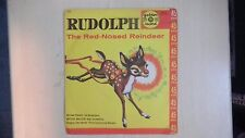 Rudolph The Red-Nosed Reindeer Stewart, Sandpipers, Miller, Golden Records 45rpm