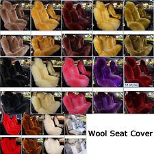New Multicolor Premium Quality Car Australian Sheep Skin Full Seat Cover Winter