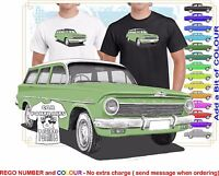 CLASSIC 62-63 EJ HOLDEN WAGON ILLUSTRATED T-SHIRT MUSCLE RETRO SPORTS