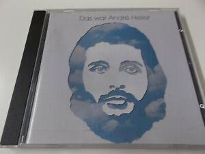 59113 - DAS WAR ANDRE HELLER - SONIA CD ALBUM MADE IN WEST GERMANY (DU, DU, DU)