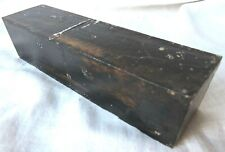 Gabon Ebony Lumber 1.5x1.5x6 Ebony Wood Calls Knife Door Tool Handles Reel Seats