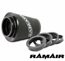 Ramair 90mm universale induzione schiuma cono filtro aria con anelli di riduzione