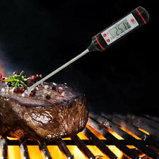 Digital Read Food Probe Cooking Meat Kitchen BBQ Thermometer Temperature Tool