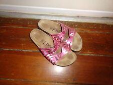 BETULA Lady's Pink Sandals Sz 40 EUC!