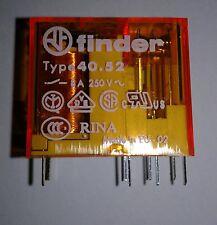 Finder Steck-/Print-Relais 40.52.8.230.0000 230V~ 2xUM 28 kOhm 250V~5A Neu