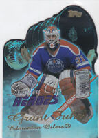 03/04 TOPPS..GRANT FUHR..STANLEY CUP HEROES..CARD # SCH-GF..OILERS