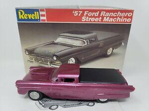 1957 FORD RANCHERO STREET MACHINE  REVELL MODEL CAR KIT IN THE BOX JUNKYARD 7142