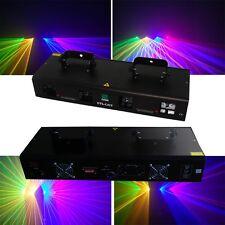 NEW ITEM 4 Lens 800mW Red+Green+Yellow+Blue DMX Laser DJ Stage Lighting