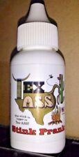 "TEX ASS .... makers of Liquid Ass Fart Prank Stink Bomb smokey BBQ - ""Streamer"""