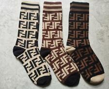 3 Pair FF Logo Middle Tube Socks one size Mock