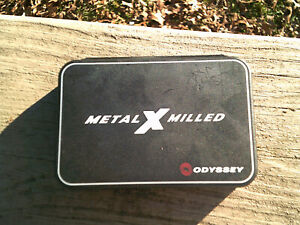 Odyssey Putter Metal X Milled Putter Weight Kit Set 10 & 20g. With Tool..Looky!!