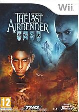 THE LAST AIRBENDER for Nintendo Wii - with box & manual - PAL