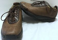 MBT Wingu Brown Lace Up Shoes Size 6 Curved Sole Rocker Athletic Walking 400197