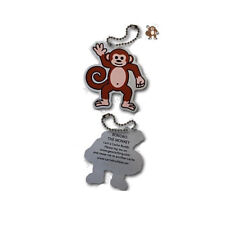 BONOBO The Monkey Travel Day Geocaching Trackable Geocoin Travelbug