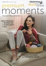 Regia Premium Moments Magazin 02 Strickanleitungen Schachenmayr Socken stricken