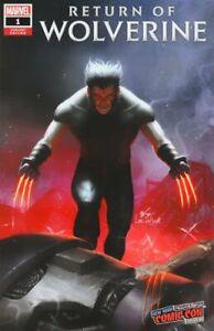 Return of Wolverine #1 Inhyuk Lee COMIC MINT NYCC EXCLUSIVE Variant NM.