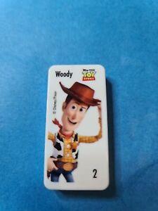 Woolworths Disney Pixar Domino 🧸 #2 WOODY LIGHTYEAR🧸 FREE POST