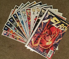 The Flash  (2011) 0,1 thru 52 ALMOST COMPLETE RUN! VF+