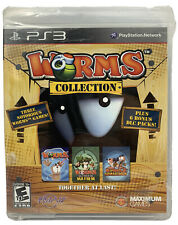 Worms Collection (Sony PlayStation 3, 2013) Factory sealed Game PS3 Rare