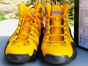 adidas crazy 8 Kobe Bryant La Lakers Yellow size mens 13 1/2 New In Box