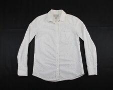 J. CREW Fitted Polka Dot Boy Shirt - Women's Juniors 00