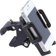Cell Phone Mount Adjustible Motorcycle Bicycle New Diamond Plate