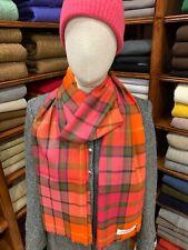 100% Pure New Wool Pashmina | Lochcarron | Made in Scotland | Buchanan Rose