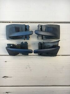 OEM Set of 4 Interior Door Handles Front & Rear Driver Passenger Side Sedan Ford